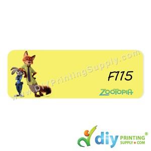 Name Sticker (Large) (500Pcs) (5M) [Zootopie]