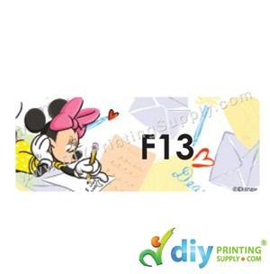 Name Sticker (Large) (500Pcs) (5M) [Mickey]