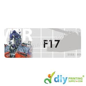 Name Sticker (Large) (500Pcs) (5M) [Transformer]