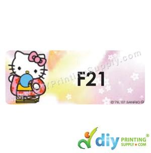 Name Sticker (Large) (500Pcs) (5M) [Hello Kitty]