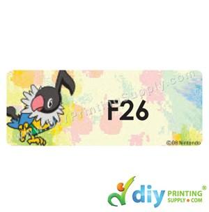 Name Sticker (Large) (500Pcs) (5M) [Pokemon]