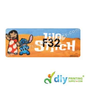Name Sticker (Large) (500Pcs) (5m) [Stitch]