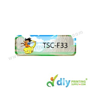 Name Sticker (Large) (500Pcs) (5m) [Dragon Ball]