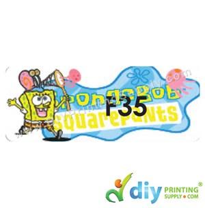 Name Sticker (Large) (500Pcs) (5m) [Spongebob]