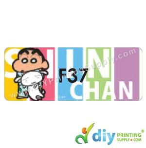 Name Sticker (Large) (500Pcs) (5M) [Shin Chan]