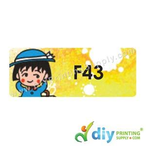 Name Sticker (Large) (500Pcs) (5M) [Maruko Chan]