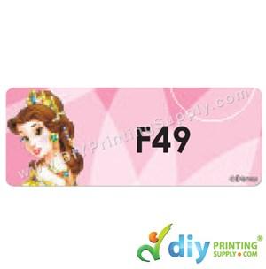Name Sticker (Large) (500Pcs) (5M) [Princess]