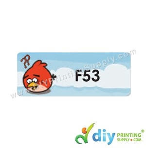 Name Sticker (Large) (500Pcs) (5M) [Angry Birds]