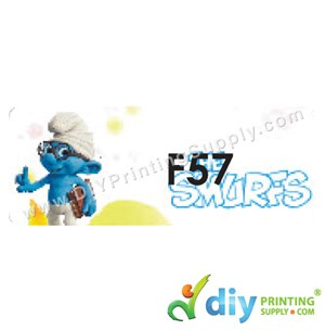 Name Sticker (Large) (500Pcs) (5m) [The Smurfs]