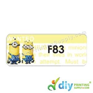 Name Sticker (Large) (500Pcs) (5M) [Minions]