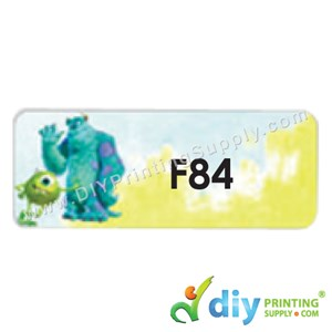 Name Sticker (Large) (500Pcs) (5M) [Monsters University]