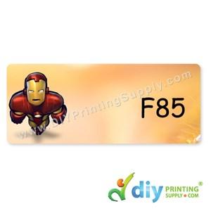 Name Sticker (Large) (500Pcs) (5m) [Iron Man]