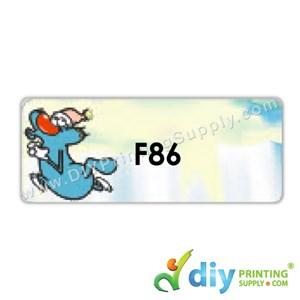 Name Sticker (Large) (500Pcs) (5m) [Oggy]