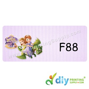 Name Sticker (Large) (500Pcs) (5M) [Sofia the First]