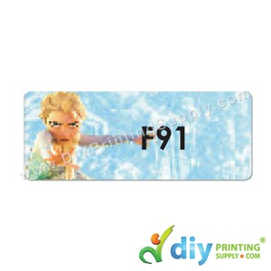 Name Sticker (Large) (500Pcs) (5m) [Frozen]