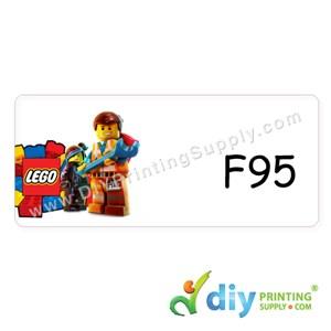 Name Sticker (Large) (500Pcs) (5M) [Lego]