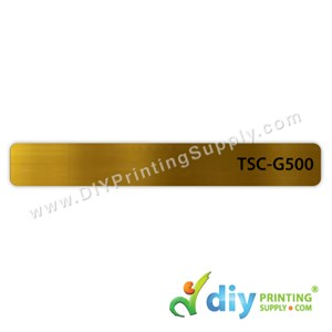 Name Sticker (500Pcs) (Gold) (13 X 97mm)