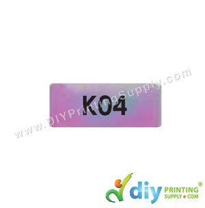 Name Sticker (Small) (1,800Pcs) (5M) [Rainbow]