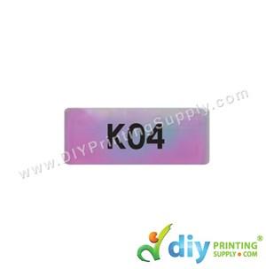 Name Sticker (Small) (1,800Pcs) (5m) [Rainbow]