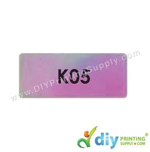 Name Sticker (Medium) (1,000Pcs) (5M) [Rainbow]