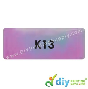 Name Sticker (Large) (500Pcs) (5m) [Rainbow]