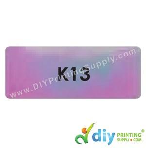 Name Sticker (Large) (500Pcs) (5M) [Rainbow]