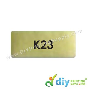 Name Sticker (Medium) (1,000Pcs) (5M) [Gold]