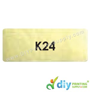 Name Sticker (Large) (500Pcs) (5M) [Gold]
