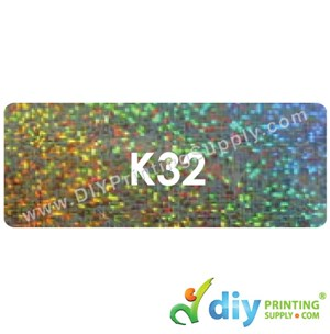 Name Sticker (Large) (500Pcs) (5m) [Sparkling]