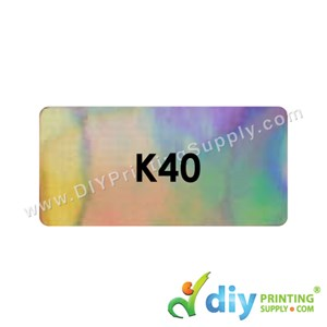 Name Sticker (45 X 25mm) (1,400Pcs) (Sparkling)
