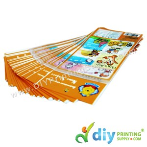 Name Sticker (Plastic Bag) (23 X 12cm) (50 Pcs/Pkt)