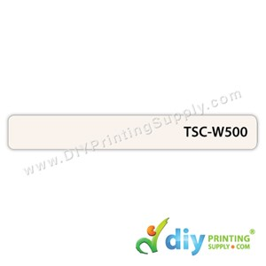 Name Sticker (500Pcs) (White) (13 X 97mm)