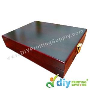 "Velvet Box With Aluminium Board (Wooden) (7"" X 9"")"