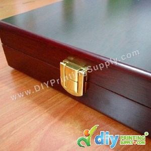 "Velvet Box With Aluminium Board (Wooden) (7"" X 9"")"