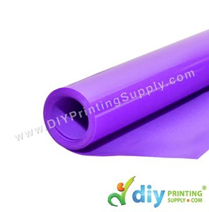 Flock Vinyl Transfer Film (Purple) (1M X 50cm)