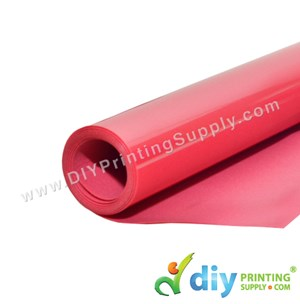 Flock Vinyl Transfer Film (Red) (1M X 50cm)