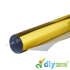Metallic Vinyl Transfer Film (Gold) (1M X 48cm)