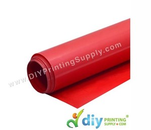 PU Flex Vinyl Transfer Film (Red) (1M X 60cm)