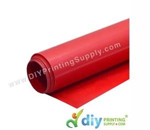 PU Flex Vinyl Transfer Film (Red) (1M X 60cm)