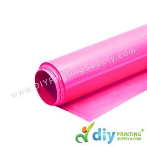 PU Neon Vinyl Transfer Film (Neon Pink) (1M X 50cm)