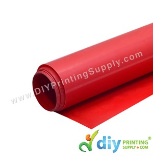 PU Vinyl Transfer Film (Red) (1M X 50cm)