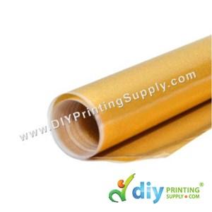 Sparkling Vinyl Transfer Film (Gold) (1M X 50cm)