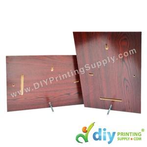 Wooden Backholder (A4)
