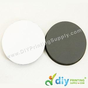 Wooden Fridge Magnet (Round) (62 X 62 X 6mm)
