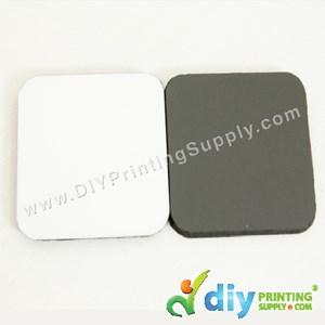 Wooden Fridge Magnet (Square) (65 X 65 X 6mm)