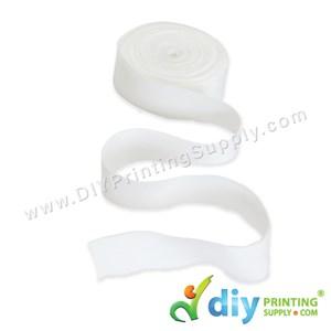 Wraparound Ribbon (Nylon) (White) (15mm X 5m)