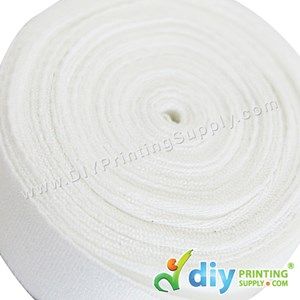 Wraparound Ribbon (Nylon) (White) (15mm X 5M)