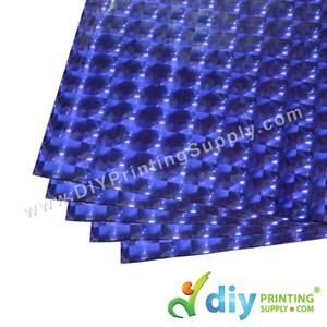 3D Wrapping Paper (30 Micron) (Blue) (50 X 70cm) (5 Pcs/Pkt)
