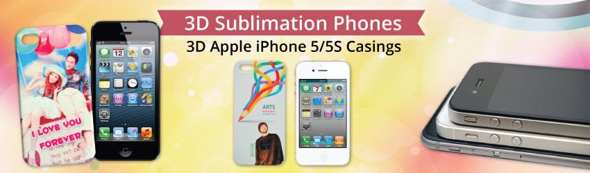 3D Apple iPhone 5/5S Casings