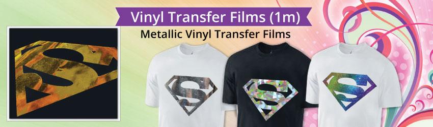 Metallic Vinyl Transfer Films